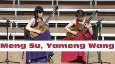 Meng Su Yameng Wang: Tan Dun - Eight Memories in Watercolor Op.1   Beijing Guitar Duo (Meng Su & Yameng Wang) Live from Concert in Qingdao China (July 2014) Tan Dun: Eight Memories in Watercolor Op.1 (Herdboy's Song & Blue Nun) Meng Su Yameng Wang