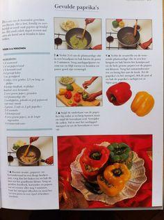 Hoofdgerecht vega - recept gevulde paprika
