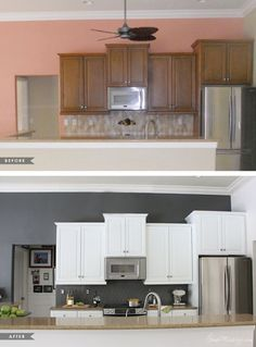 How I transformed my kitchen with paint  How I transformed my kitchen with paint  How I transformed my kitchen with paint  How I transformed my kitchen with paint  How I transformed my kitchen with paint