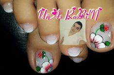 Pedicure Nail Art, Toe Nail Art, Toe Nails, Manicure, Magic Nails, Nail Arts, Nail Art Designs, Lily, Beauty