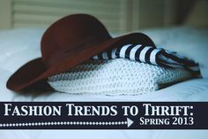 fashion #trends to find at the #thrift store <3