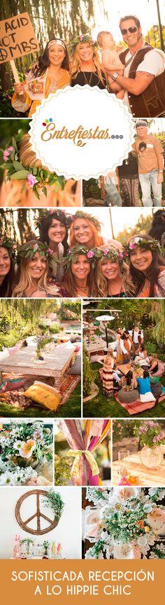 Si eres una persona amante de la plenitud y la armonía: seguramente deseas hacer de tu festejo una ocasión repleta de energías positivas. Si buscas convertir tu celebración en una fiesta que irradie paz y amor a todos tus invitados no puedes perderte estos maravillosos consejos para lograr una elegante fiesta al estilo hippie.