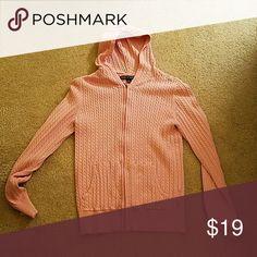 SALE-Tommy Hilfiger pink sweater hoodie Pink sweater with hood. Tommy Hilfiger Tops