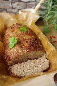 Obiad gotowy!: Klops czyli pieczeń rzymska Meatloaf, Dinner Recipes, Pork, Meals, Drink, Blog, Food And Drinks, Koken, Rezepte