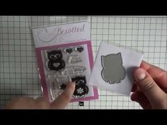 How To Align Stamps With Dies | The Card Grotto