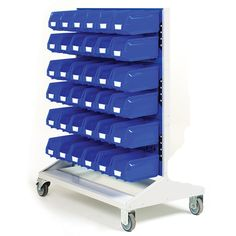 Static and Mobile Louvre Panel Racks