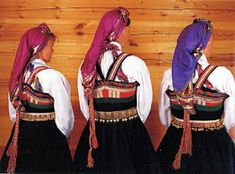 FolkCostume&Embroidery: Overview of Norwegian Costumes, part The eastern heartland Folk Costume, Costumes, Norwegian Clothing, Folk Clothing, Heartland, Norway, Sweden, Folk Art, Scandinavian