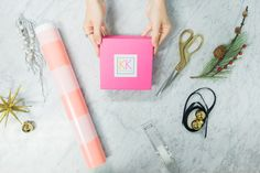 My gifts this year will be a little less traditional and a lot more colorful. Gift Wrapping with a Twist!