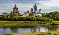 The Tikhvin Assumption Monastery in Tikhvin, Leningrad oblast, Russia