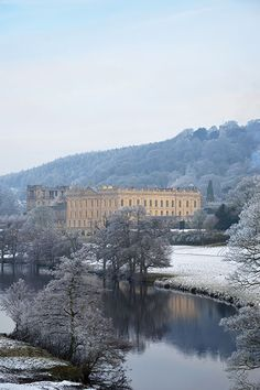 Chatsworth House  If Mr. Darcy won't come to you, then you come to Mr. Darcy. This Peak District estate doubles as his Pemberley home. Indeed, the 35,000-acre estate has plenty to swoon over, including gardens and Christmas festivities. Chatsworth House, Bakewell, Derbyshire; 012 4656 5300.