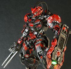 GUNDAM GUY: HG 1/144 Gundam Barbatos 'Project Barbatos Noir' - Customized Build