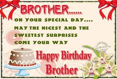 happy birthday to my brother mike | Top Images of Happy Birthday Wishes for Brother from ...