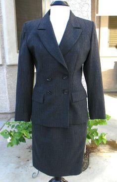 Vintage Yves Saint Laurent Woman's Suit   Circa by FeliceSereno, $145.00