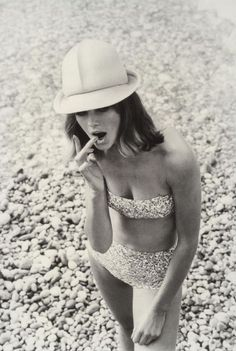 60's swimsuit beach vintage style