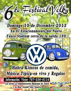 Festival Volky 2013 @ Yauco Stadium #sondeaquipr #festivalvolky #yaucostadium #yauco #vw #volkswagen