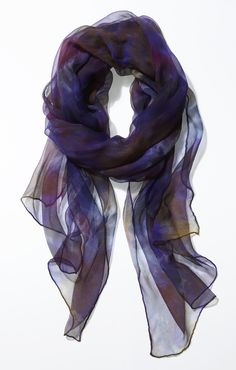Charlotte_Peacock scarf scarves hand dyed hand made  coming premiere trade event melbourne