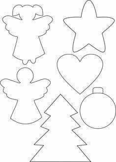 New Post Christmas Ornament Templates Interesting Visit Xmast