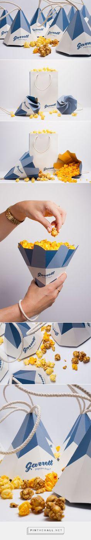 Garrett Popcorn Shops Cones packaging design concept by Jennifer Mulvihill - www.packagingofth...