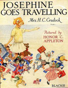 Honor C. Appleton (1879 – 1951, English)  Josephine Goes Travelling