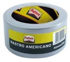 PATTEX NASTRO AMERICANO GRIGIO MM. 50 MT. 25 http://www.decariashop.it/adesivi/12858-pattex-nastro-americano-grigio-mm-50-mt-25.html