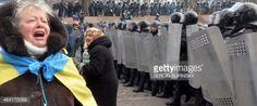 03-24 An Ukrainian opposition activist speak to riot-forces... #kiev: 03-24 An Ukrainian opposition activist speak to riot-forces… #kiev