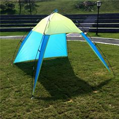 Half-open Beach Outdoor Ultralight Outdoor Sports Sunshade Tent for Fishing Picnic Park Tents Shade. Picnic ParkTentsPop UpPicnicsFishing & Fishing Hiking Tents | Outdoors | Pinterest | Beach camping Tents ...