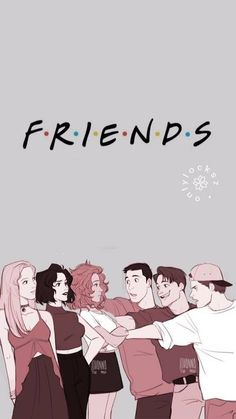 Image about friends in lockscreens 📱 by 𝓵𝓲𝓷𝓱 on We Heart It