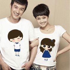 Cartoon cute Panda couple pajamas cotton short sleeve Pajamas for ...
