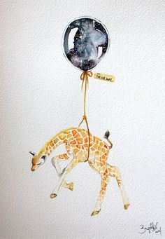 Find images and videos about art, illustration and giraffe on We Heart It - the app to get lost in what you love. Art And Illustration, Lapin Art, Giraffe Tattoos, Tattoo Foto, May Arts, Cute Drawings, Art Inspo, Amazing Art, Watercolor Art