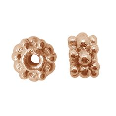 Rose Gold Overlay Lobster Clasp FRG-116-10MM