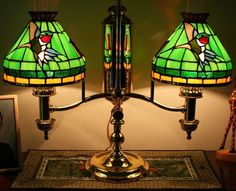 Glass Student Lamp Shades - Foter