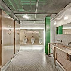 Restaurant Bathroom Design - Badezimmermöbel Restaurant Bathroom Design by no means walk out types. Restaurant Bathroom Design could be ornamente. Restaurant Bad, Toilet Restaurant, Restaurant Bathroom, Restaurant Pictures, Ada Bathroom, Bathroom Toilets, Modern Bathroom, Guys Bathroom, Modern Toilet