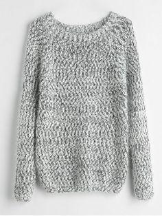 9b246e215f Fuzzy Heathered Sweater - MULTI ONE SIZE Trendy Fashion