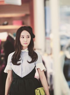 Krystal Jung - The Heirs Krystal Jung, Jessica & Krystal, Fashion Line, Asian Fashion, Korean Celebrities, Celebs, Korean Girl, Asian Girl, Kpop Hair