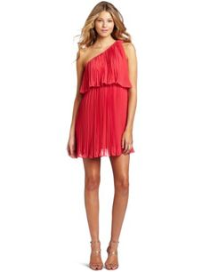 BCBGeneration Women's Tiered Pleated Dress  Guava  XX-SmallFrom #BCBGeneration List Price: $168.00Price: $126.10