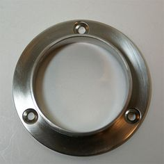 Closed End Closet Rod Flange : This Durable And Practical Brass Closet Rod  Flange Provides Stylish