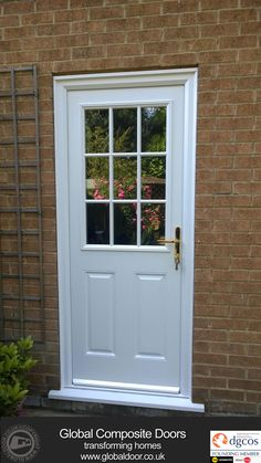 A selection of our Door Stop Door Composite Doors, Installed throughout the UK. Available for both DIY or Professionally fitted, and with 12 months Interest Free Credit, we've a design for every home. Cottage Front Doors, Composite Front Door, Front Gate Design, Front Gates, Fire Doors, External Doors, Free Credit, Foyer Decorating, Door Stop