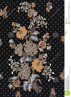 Indonesian Batik Sarong Royalty Free Stock Photo - Image: 3826545