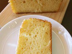 スタバのレモンパウンドケーキの画像
