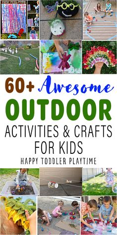 Outdoor Activities For Toddlers, Summer Activities For Kids, Sensory Activities, Craft Activities For Kids, Kindergarten Activities, Summer Kids, Crafts For Kids, Sensory Bins, Summer Crafts