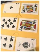 Use a deck of playing cards to create and compare fractions in this fourth and fifth grade math game.