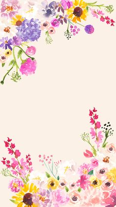 Free Spring Phone, Desktop and Zoom Backgrounds - Love and Specs Watercolor Flower Background, Flower Background Wallpaper, Flower Phone Wallpaper, Cute Wallpaper Backgrounds, Flower Backgrounds, Pretty Wallpapers, Iphone Wallpaper, Background Designs, Floral Watercolor Background