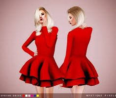 Image result for sims 4 cc RUCHED DRESS