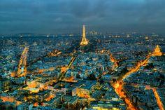 The city of light - Paris at night (october 2016)