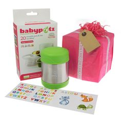 Baby Weaning Gift Set for 6 months+. The perfect gift set to pass on to a parent with a weaning baby, it includes weaning pots and a food flask. Pots, Food Portions, Baby Weaning, Batch Cooking, Food Storage Containers, No Cook Meals, Flask, 6 Months, Homemade