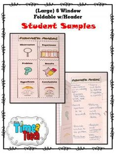 Flooding + Tornadoes + Fires= Lesson about TIME! - More Time 2 Teach Science Classroom, Teaching Science, Science Experiments, Science Ideas, Science Fun, Scientific Method Foldable, Scientific Method Steps, Third Grade Science, Middle School Science