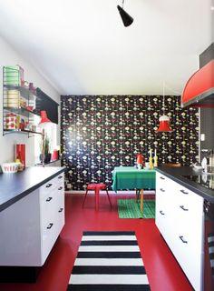 graphic kitchen, HelenaBlomqvist, desiretoinspire.net