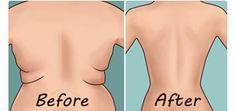 Elimina la grasa localizada en la espalda con sencillos ejercicios que puedes realizar en la comodidad de la casa, resultados sorprendentes.