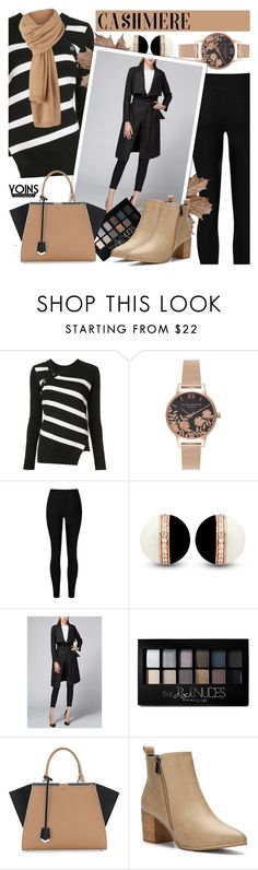 """Cozy Cashmere - Yoins 5.1"" by cly88 ❤ liked on Polyvore featuring Proenza Schouler, Olivia Burton, Maybelline and Fendi"
