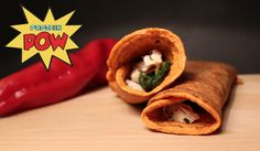 The Best Low-Carb Protein Wraps in the World - the Red Pepper Edition